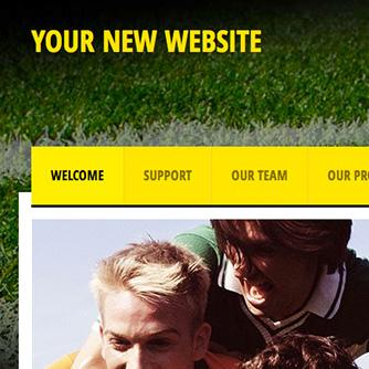 Yellow Soccer