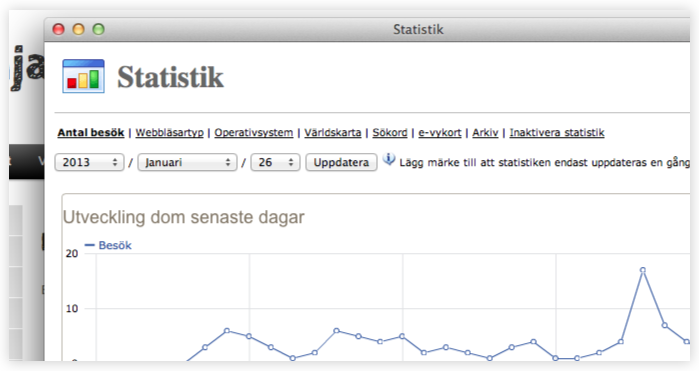Funktioner - Statistik