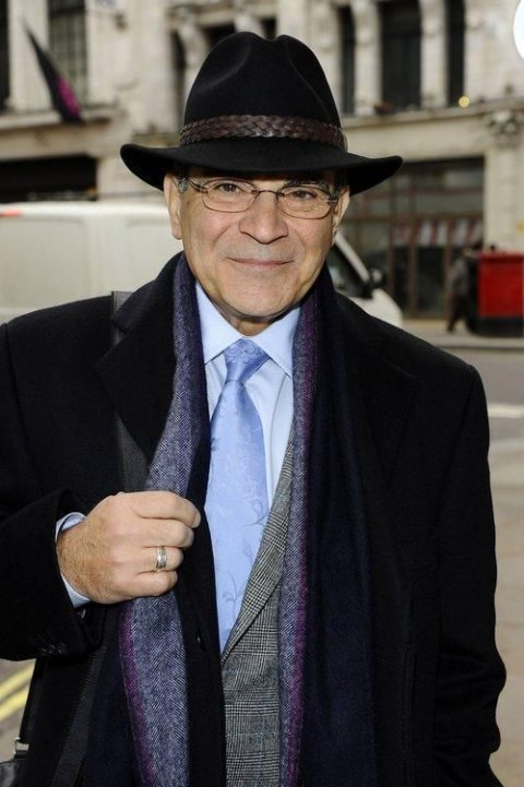 David Suchet at the Prince of Wales Theatre 25 January 2011