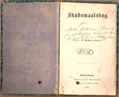 Min oldemors skudsmålsbog
