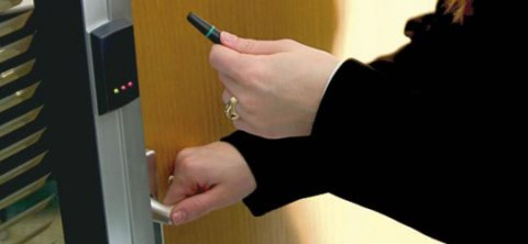 Presenting PROXIMITY keyfob to P38 reader.