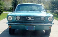Ford Mustang Fastback GT 1966