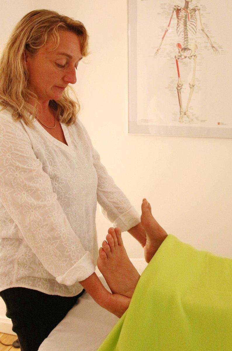 Behandling af smerter i knæerne