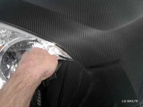 Carbon folie til biler